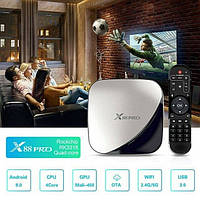 Приставка Smart TV Box X88 Pro RK3318 на Android 4Gb/32Gb Серый