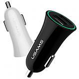 Автомобильное зарядное устройство Usams US-CC036 (1USB 1.2А) Black, фото 2