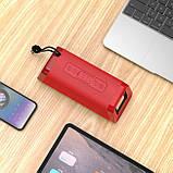 Портативная Bluetooth колонка Hoco BS35 Classic sound sports Red, фото 3