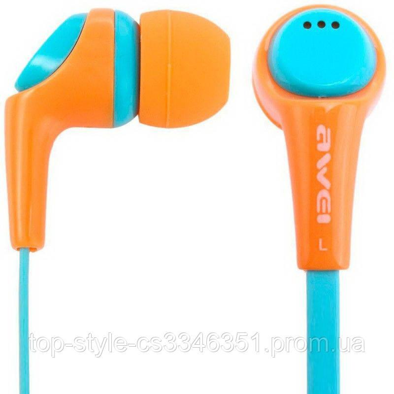 Наушники Awei ESQ6i Orange
