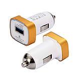 Автомобильное зарядное устройство Ldnio DL-211 + Micro USB Cable (1USB 2.1A) White, фото 3