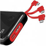 Power Bank Baseus Mini S Digital Display 3A 10000mAh (с кабелем Lightning) Black, фото 2