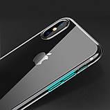 Чехол Hoco Light Series TPU для iPhone X Transparent, фото 3
