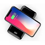 Внешний аккумулятор Power Bank Golf W5 full screen+digital display 8000mAh Black, фото 2