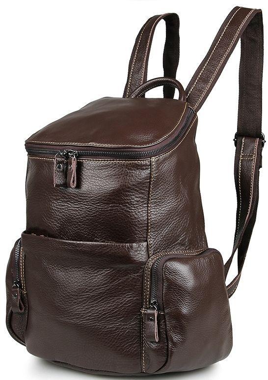 Рюкзак Vintage 14618 кожаный Коричневый