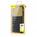 Чехол Baseus Glass and Weaving Case для Apple iPhone XR Black, фото 2