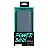 УМБ Usams Power Bank US-CD01 10000mah Grey, фото 2