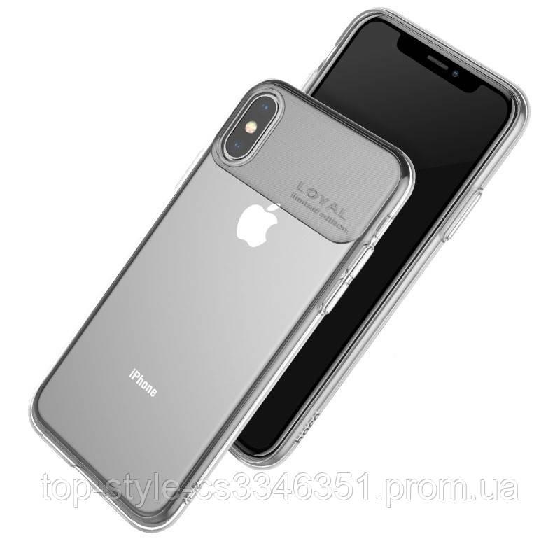 Чехол Hoco Water rhyme series protective case для Apple iPhone XS Max Transparent