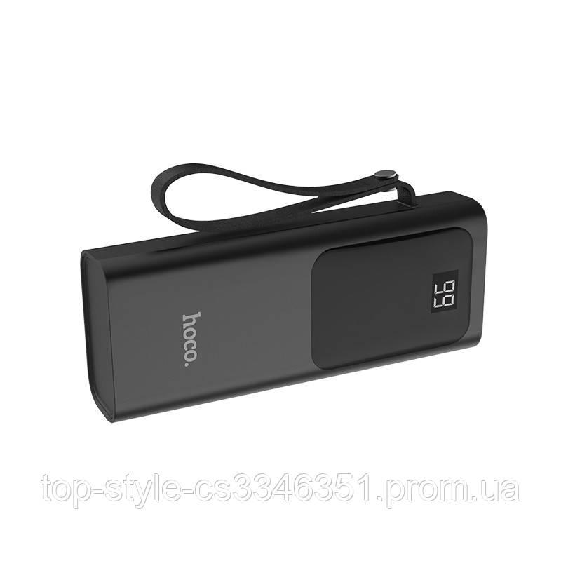 Портативное зарядное устройство Hoco J41 Treasure 10000mAh Black