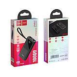 Портативное зарядное устройство Hoco J41 Treasure 10000mAh Black, фото 3