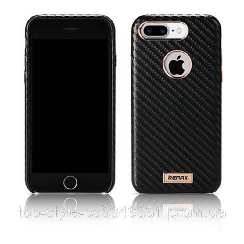 Чехол-накладка Remax Carbon Series Case for iPhone 7/8 Black