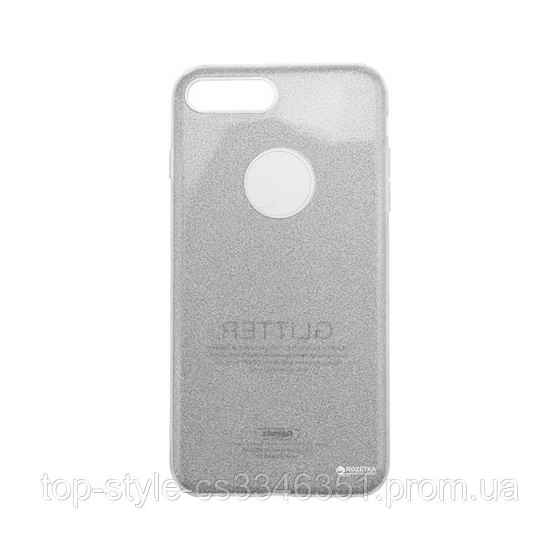 Чехол-накладка Remax Glitter для iphone 7/8 Silver
