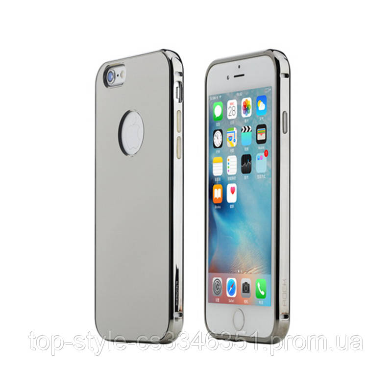 Чехол Rock Infinite Series (Mirror) для Apple iPhone 6 Plus/6s Plus Gray