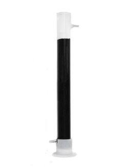 Стеклянная угольная колонна 500 мм D 40 мм