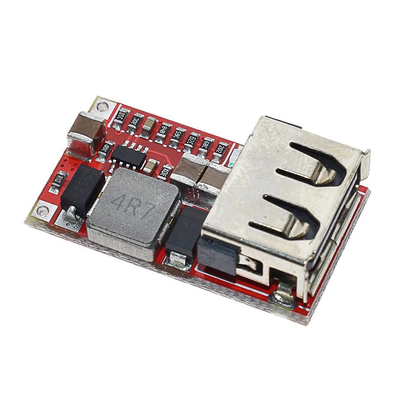 DC-DC понижающий преобразователь c USB IN 5-24V OUT 5V
