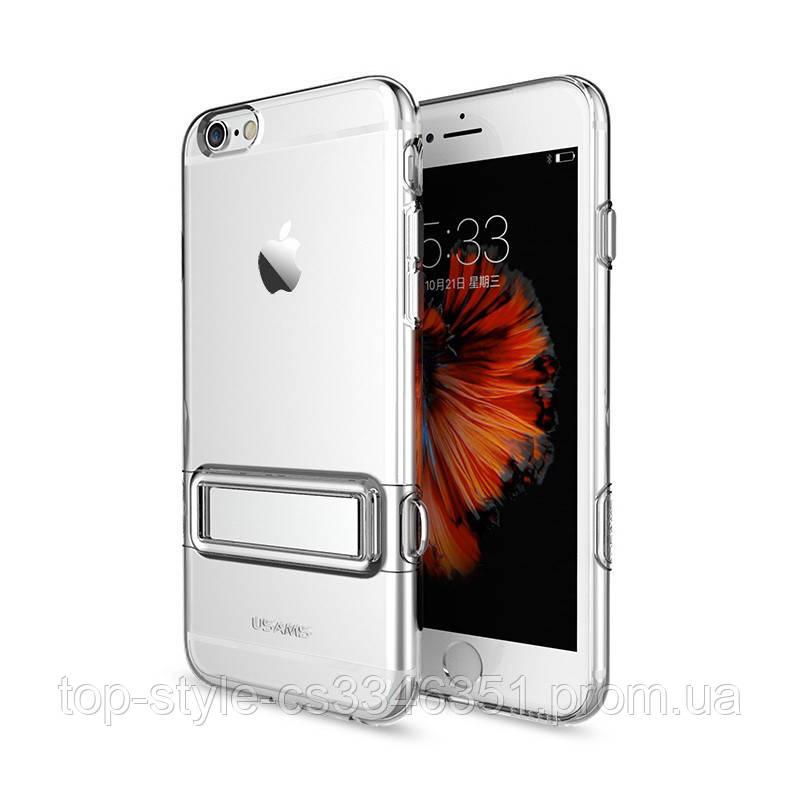 Чехол-накладка Usams Bright Apple iPhone 7/8 Silver