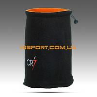 Бафф (горловик) двусторонний КР7 черный / адидас оранжевый