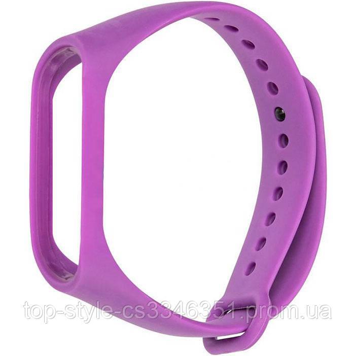 Ремешок для фитнесс браслета Xiaomi Mi Band 3/4 Violet