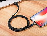 Кабель Usams US-SJ352 U32 Aluminum Alloy Magnetic Lightning 1m Black, фото 2