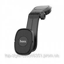 Автодержатель Hoco CA61 Kaile center console magnetic Black