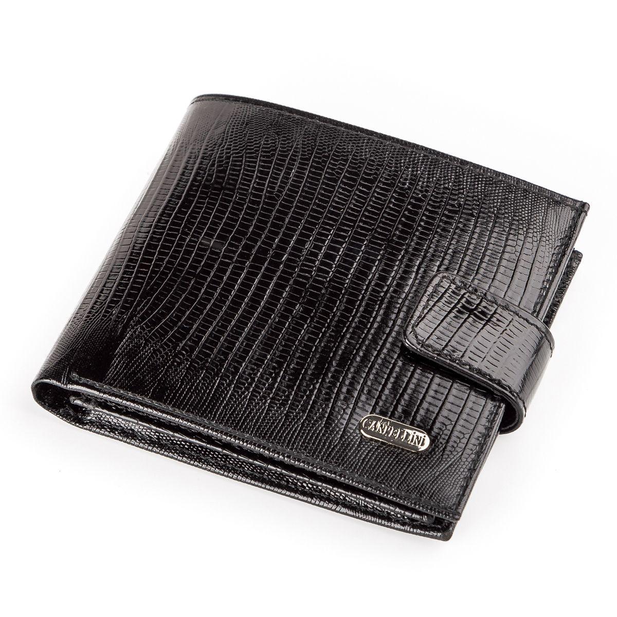 Кошелек мужской CANPELLINI 17032 кожаный Черный