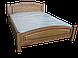 Кровать двуспальная из дерева Верона (коньяк), фото 4