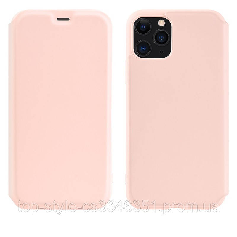 Чехол-книжка Hoco Colorful series liquid silicone для Apple iPhone 11 Pro Max Pink