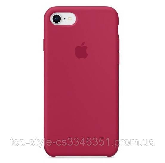 Чехол HC Silicone Case для Apple iPhone 7/8 Rose Red