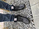Мужские кеды кожаные зимние черные CrosSAV 300 Classik, фото 3
