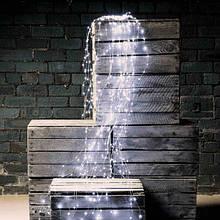 """Світлодіодна Гірлянда """"Кінський Хвіст"""" 20 ліній, Довжина 1,5 метра , 200 LED. Білий"""