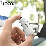 Автомобильное зарядное устройство Hoco Z21 (2USB 3.4A) White, фото 3