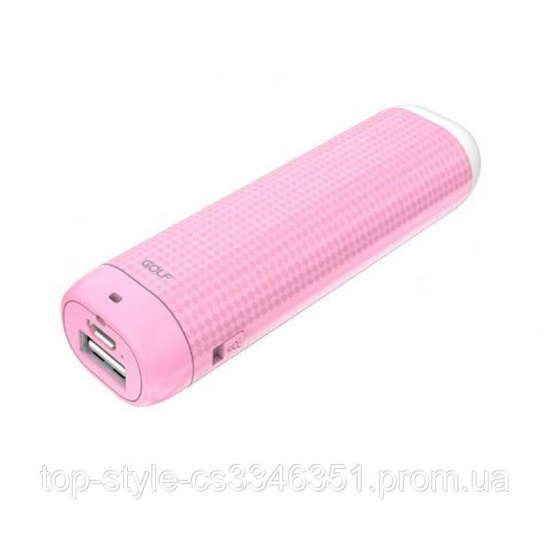УМБ Power Bank Golf Lonsmax GF-D1S 2000mAh Pink