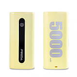 УМБ Remax Proda E5/PPL-15 5000 mAh Yellow, фото 2