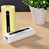 УМБ Remax Proda E5/PPL-15 5000 mAh Yellow, фото 4