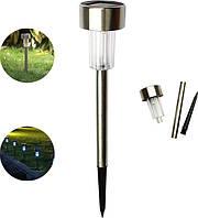 Светильник садово-парковый Lesko HS-01 на солнечной батарее уличное освещение