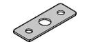 Основание с изолирующим слоем для шарнир(петель), тип 6