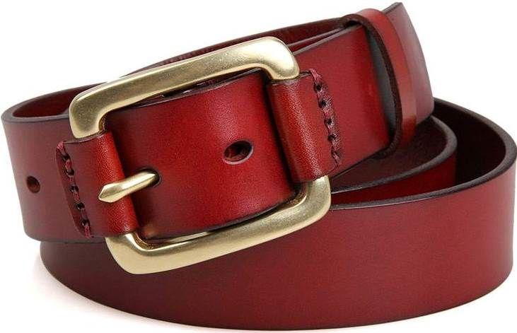 Ремень мужской Vintage 14525 Коричневый