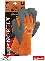 Защитные утепленные перчатки, с покрытием из латекса NORTEX PS