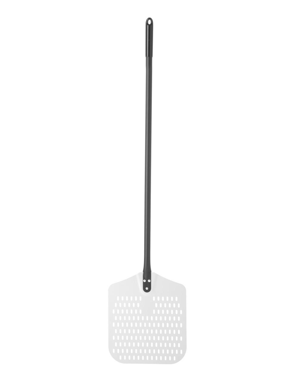 Алюминиевая лопата для пиццы, перфорированная 310x350x1350 мм Hendi 617137
