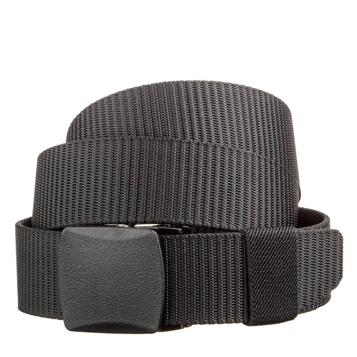 Стильный текстильный мужской ремень Vintage 20228 Черный