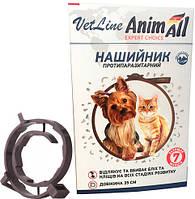 Нашийник AnimAll 35см (від бліх і кліщів) для котів і собак