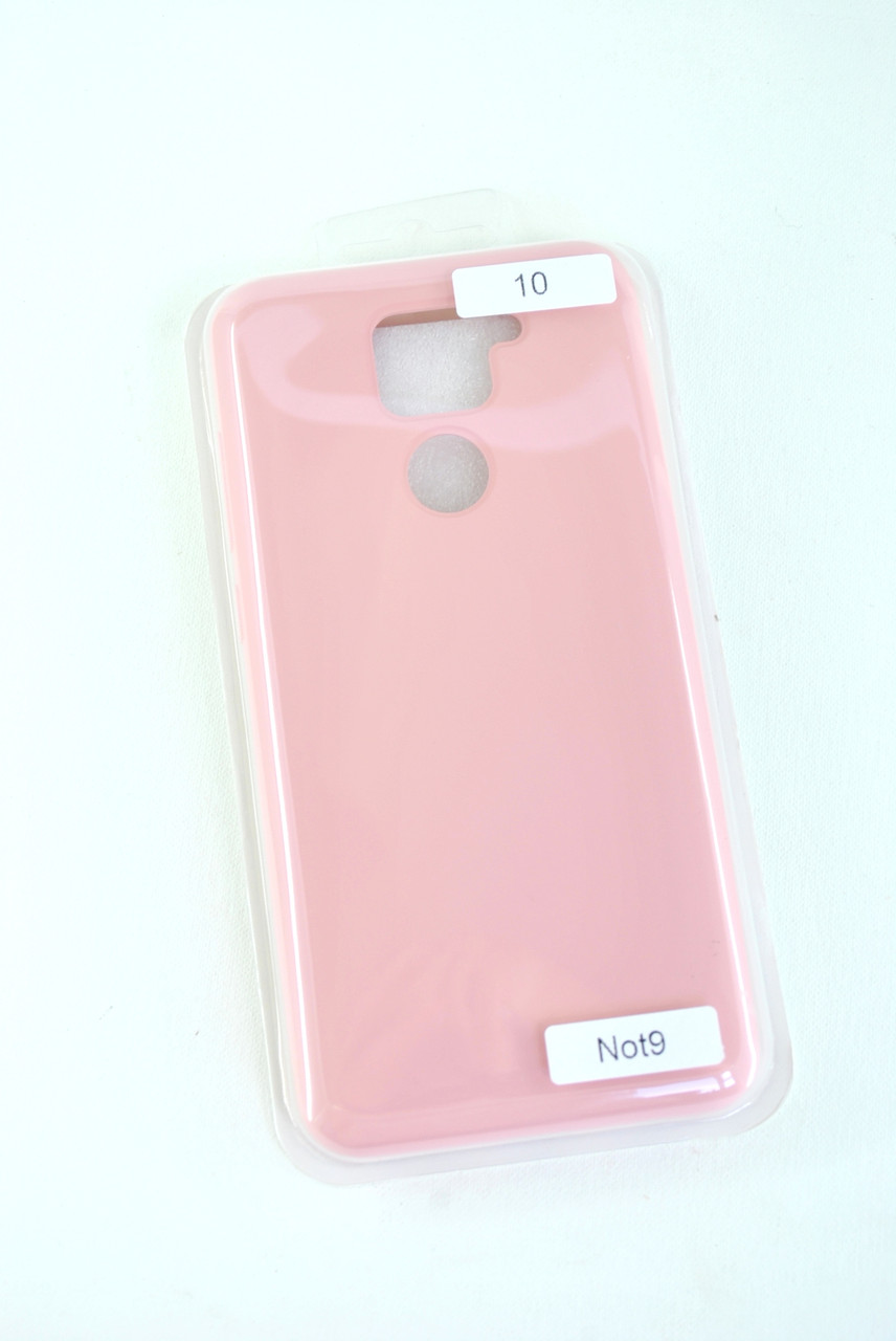 Чехол Xiaomi Redmi 8 Silicon Original FULL №10 Pink (4you)