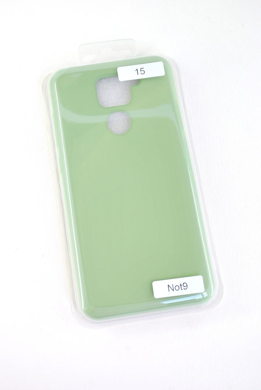 Чехол Huawei Y6P (2020) Silicon Original FULL №15 Green (4you)