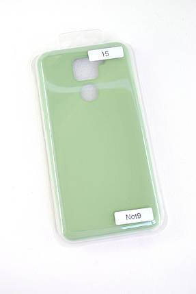 Чехол Huawei Y6P (2020) Silicon Original FULL №15 Green (4you), фото 2