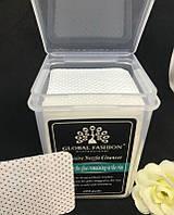 Безворсовые салфетки перфорированные в пластиковом боксе 180 шт