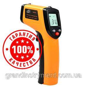 Безконтактний інфрачервоний термометр (пірометр) -50-530°C, 12:1, EMS=0,95 BENETECH GM530