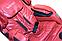 Массажное кресло ZENET ZET 1530 Вишневое, фото 3