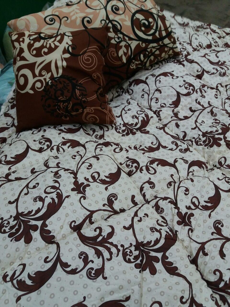 Зимнее одеяло бязь котон полуторка