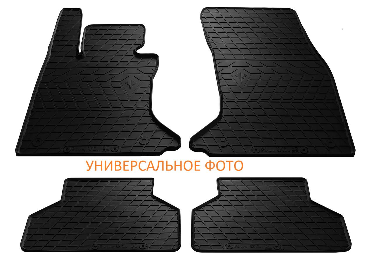 Коврики в салон резиновые для Toyota Yaris III (Hybrid) 2014-2020 Stingray (4шт)
