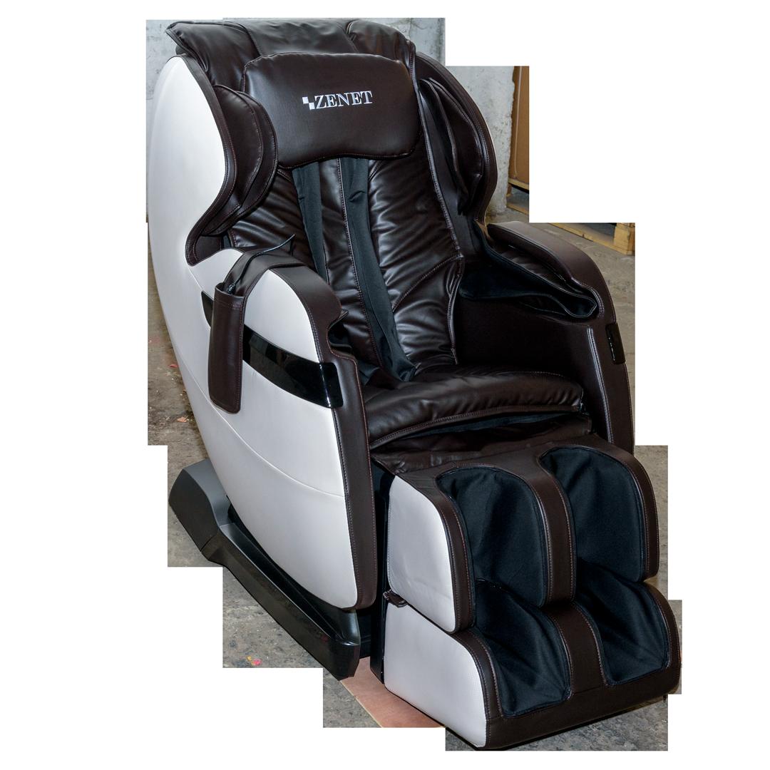Массажное кресло ZENET ZET 1530 Коричневое